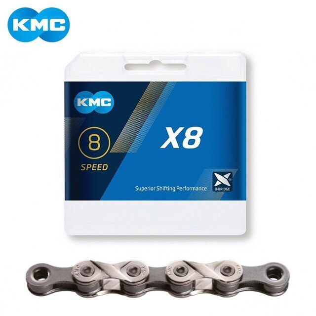KMC X8.93 - 6/7/8 Speed MTB/Road Bike Chain 116L