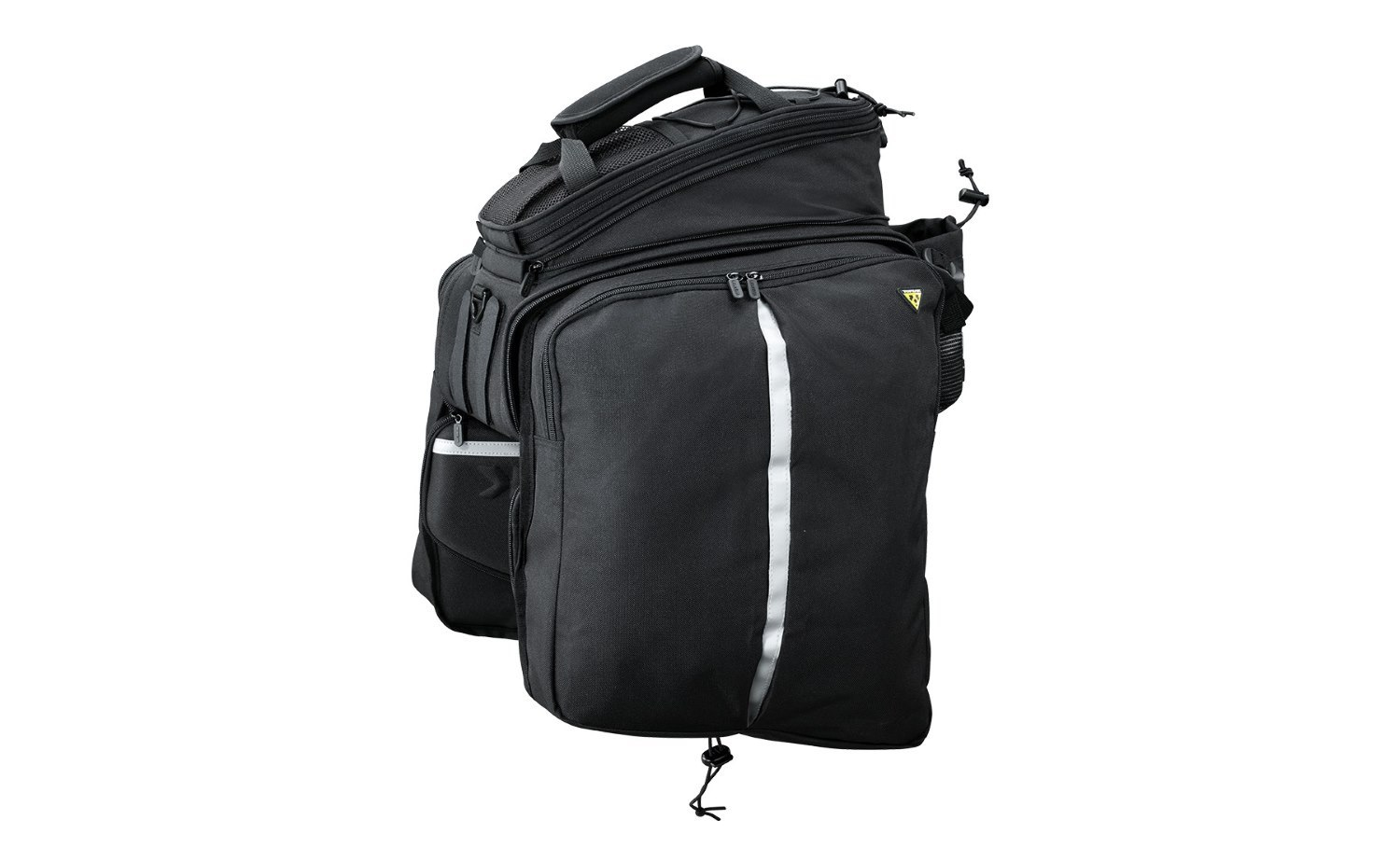 Topeak Bicycle Trunk Bag DXP with Rigid Molded Panels - Strap Mount 22.6L