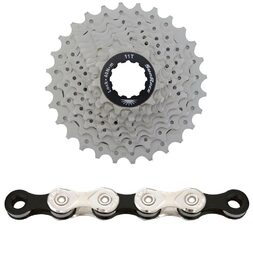 SunRace 11-28t 10Speed + KMC X10.93 Chain/Cassette Bundle